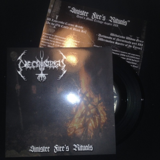 Necrostrigis - Sinister Fires Rituals (EP)