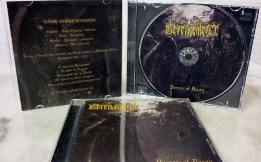 Bereavement - Verses of Decay (CD)