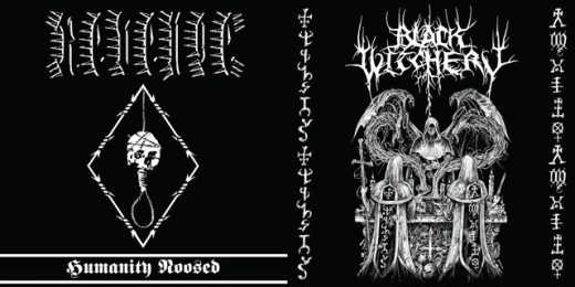 Black Witchery / Revenge - Holocaustic Death March to Humanitys Doom