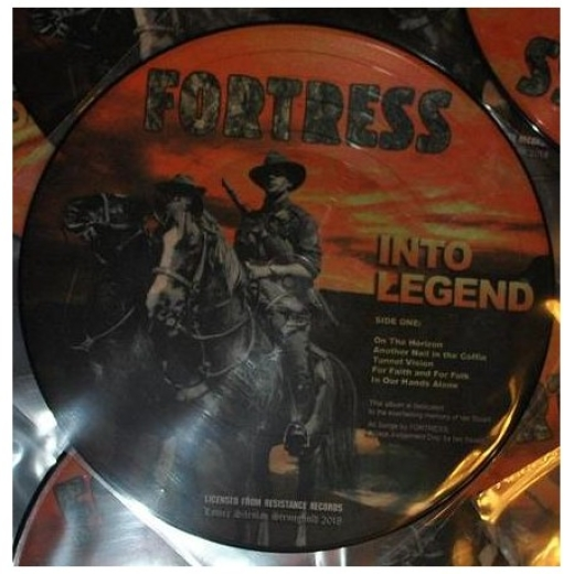 Fortress - Into Legend (PicLP)