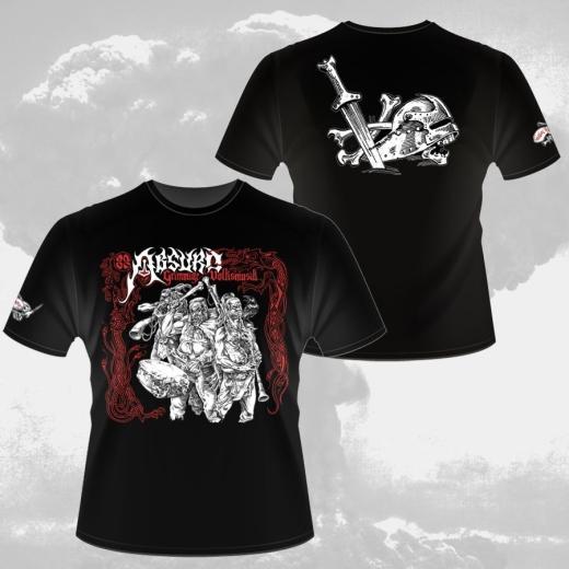 Absurd - Grimmige Volksmusik (T-Shirt black)