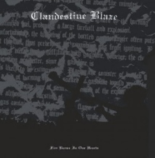 Clandestine Blaze - Fire Burns in Our Hearts (LP)