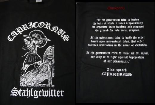 Capricornus - In Stahlgewittern (T-Shirt)
