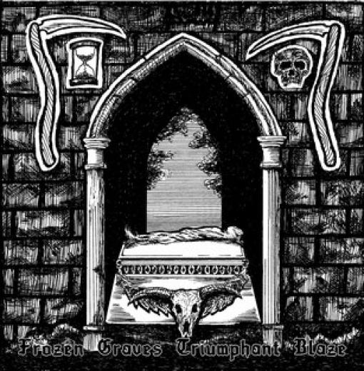 Necrostrigis / Nocturnal Werewolf - Frozen Graves Triumphant Blaze (CD)