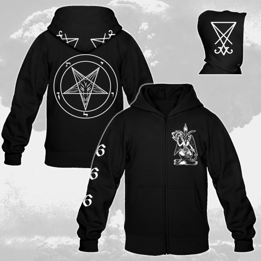 Heil Luzifer - Hooded Zip Jacket