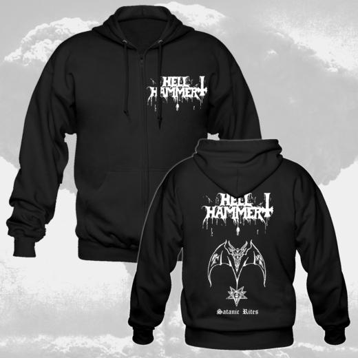 Hellhammer - Satanic Rites (Hooded Zip Jacket)
