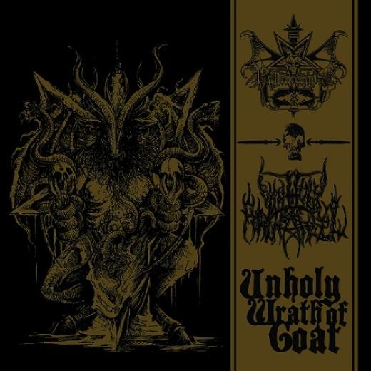 Unholy Archangel / Hammergoat - Unholy Wrath of Goat (CD)