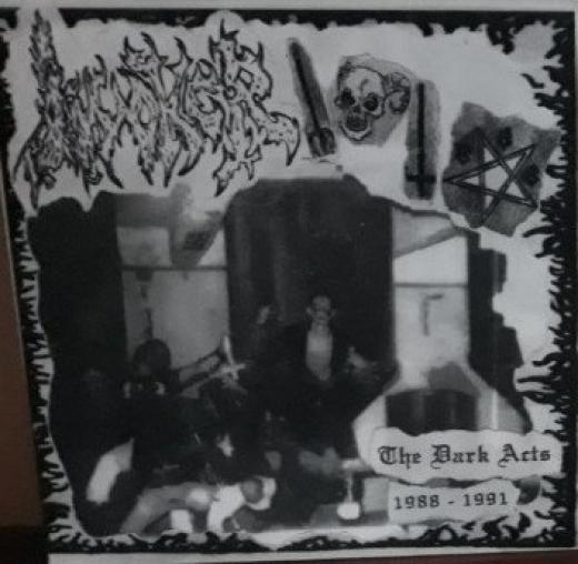 Invoker - The Dark Acts (1988 - 1991) / LP