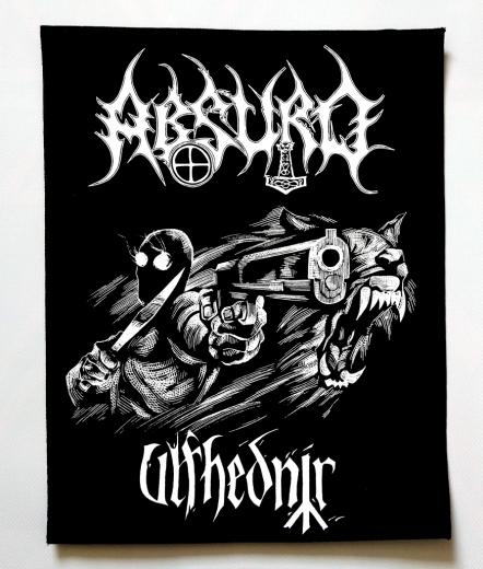 Absurd - Ulfhednir (Backpatch)