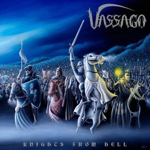 Vassago - Knights from Hell (LP)