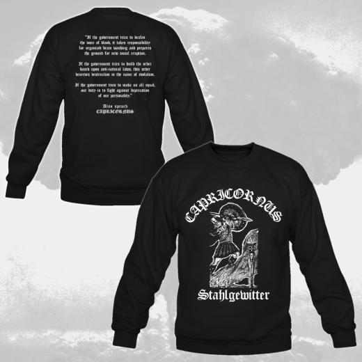 Capricornus - In Stahlgewittern (Sweatshirt)