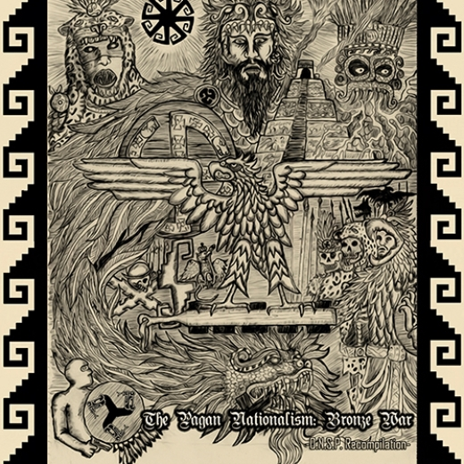 V.A. - The Pagan Nationalism: Bronze War (CD)