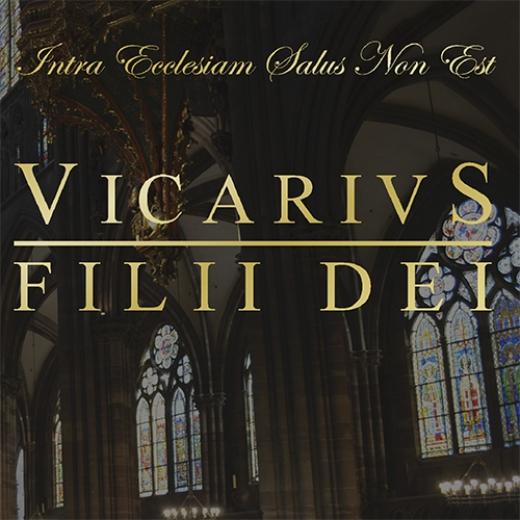 Vicarivs Filii Dei - Intra Ecclesiam Salus Non Est (CD)