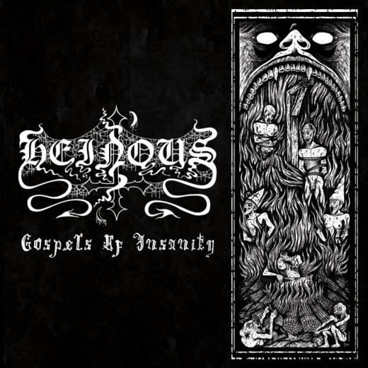 Heinous - Gospels of Insanity (CD)