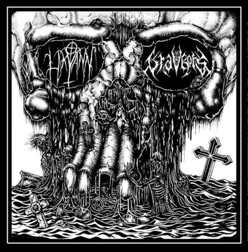 Likvann / Gravkors - SplitCD