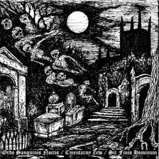 Ordo Sanguinis Noctis / Cmentarny Zew / Sit Finis Hominum - Wyzyny Siedmiu Samotnosci (CD)