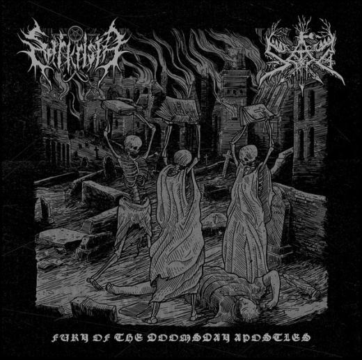 Sarkrista / Sad - Fury Of the Doomsday Apostles (LP)