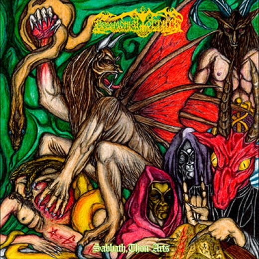 Ceremonial Torture - Sabbath, Thou Arts (CD)