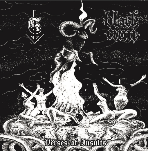 Gasmask / Black Cum - Verses of Insults (CD)