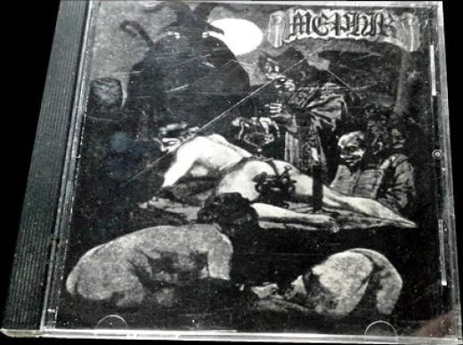 Mephir - Storm of Death (CD)