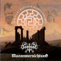 Darkthule / Massenvernichtung - Magna Europa est Patria Nostra (CD)