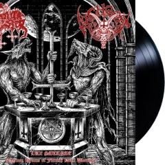 Satanic Warmaster / Archgoat - Lux Satanae (LP)