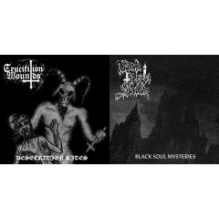 Black Priest of Satan / Crucifixion Wounds - SplitEP