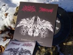 Winter Blackness / Infamous - Symbols of Scarlet Revenge (EP)