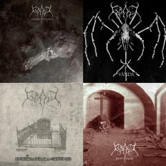 GRAV - Projektioner af Död & Tomb of Agony & Fordærvet Djævelskab & Vånda (CD-Bundle)