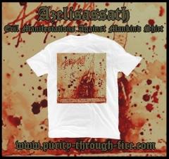 Azelisassath - Evil Manifestations Against Mankind (T-Shirt)