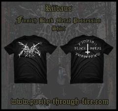 Riivaus - Finnish Black Metal Possession (T-Shirt)