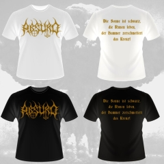 Absurd - Goldlogo (T-Shirt)
