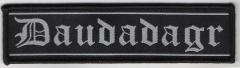 Daudadagr - Logo (Patch)