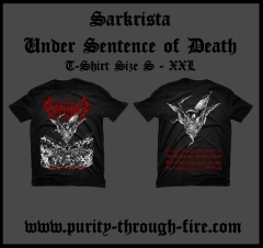 Sarkrista - Under Sentence of Death (T-Shirt)