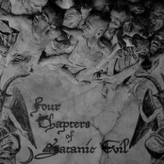 Mystes / Nekrokrist SS / Calvarium Funestus / Khaos Abyssi - Four Chapters of Satanic Evil (CD)