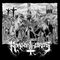 Korgonthurus - Korgonthurus / Ristillä Mädäntyen (LP)