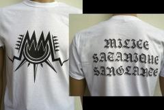 Maeströ Cröque Mört - Bloody Satanic Milicia (T-Shirt)