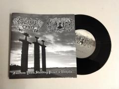 Macabre Omen / Nachtfalke - Fourteen Years Standing Proud In Valhalla (EP)