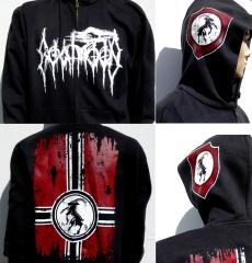 Goatmoon - Logo / Banner (Hooded Zip Jacket)