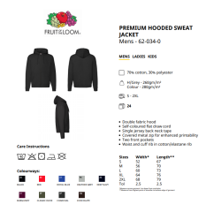 Bathory - Hordes (Hooded Zip Jacket)
