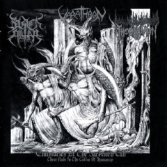 Thornspawn / Varathron / Black Altar - Emissaries of the Darkened Call - Three Nails in the Coffin of Humanity (CD)