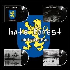 Hate Forest - Nietzscheism (4 x EP-Box Set)
