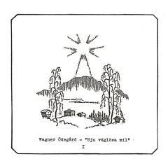 Wagner Ödegård - Sju Väglösa Mil I (CD)