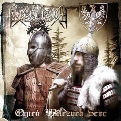 Graveland / Biały Viteź - Ogień wilczych serc (CD)