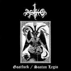 Aske - Saatan Legio / Goatfuck (LP)