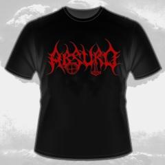 Absurd - Rotes Logo (T-Shirt)