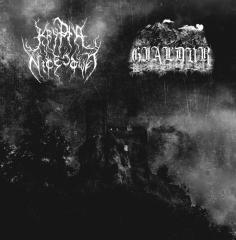 Gjaldur / Krypta Nicestwa - Von Alten Gräbern / Krypta Nicestwa (LP)