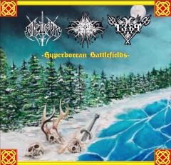 Niedfyr / Necro Forest / 1389 - Hyperborean Battlefields (CD)